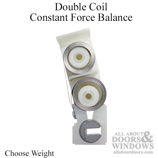 Certainteed Double Coil Constant Force Balance System For