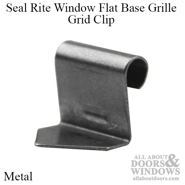 Seal Rite Window Flat Base Grille Grid Clip 10 Pack