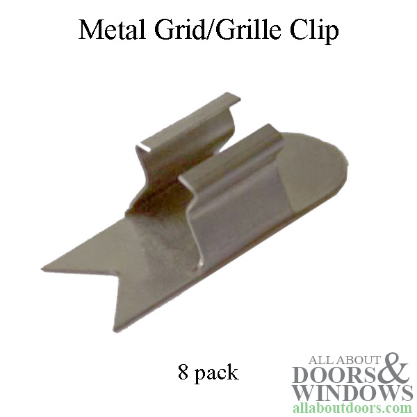 Andersen Grid Grille Clip Metal Snap Fit