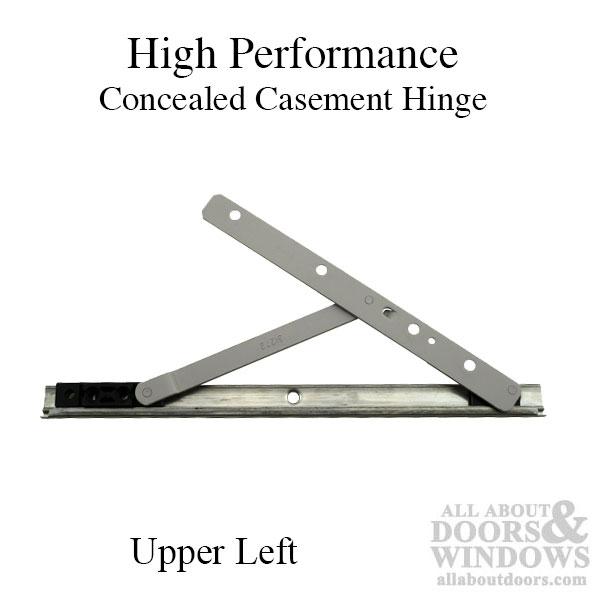 High Performance Concealed Casement Hinge Upper Left