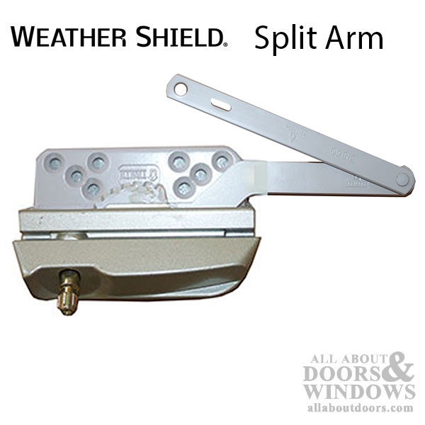 Weather Shield Split Arm Operator Lh Used With Folding Handle
