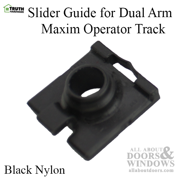 Truth 31877 Slider Guide For Dual Arm Maxim Operator Track