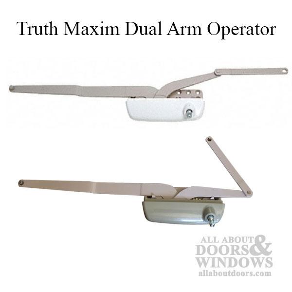 Truth Maxim Dual Arm Operator Hurd Casement Lh Choose