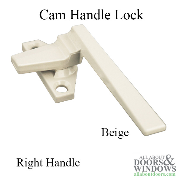 Cam Handle Lock Low Profile Right Handle
