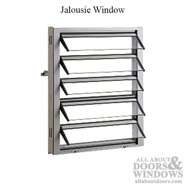 Left Hand Window Operator With 4 Inch Link For Jalousie