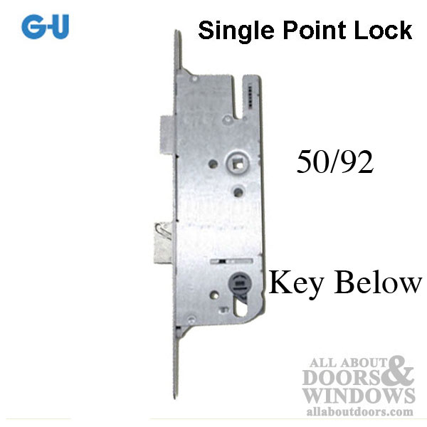 GU Lever Operated Latch /& Deadbolt 35//92mm Multi Point Lock 2 Hook