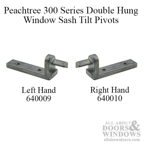 Peachtree 300 Series Double Hung Window Pivot Pin Old