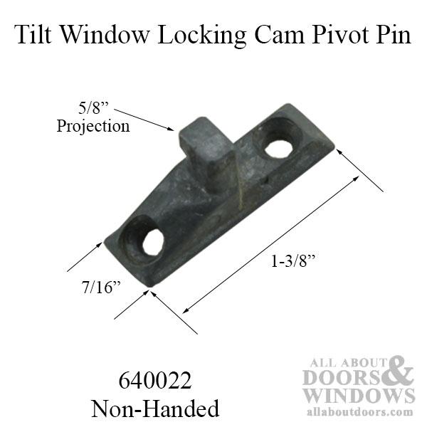 Tilt In Window Locking Cam Pivot Pin 2 Hole Tilt Stud For
