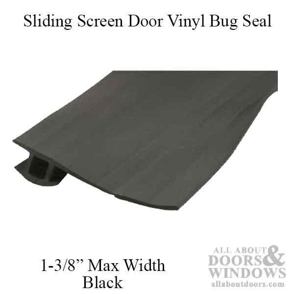 Screen Door Bug Seal Bug Seal Sliding Screen Door