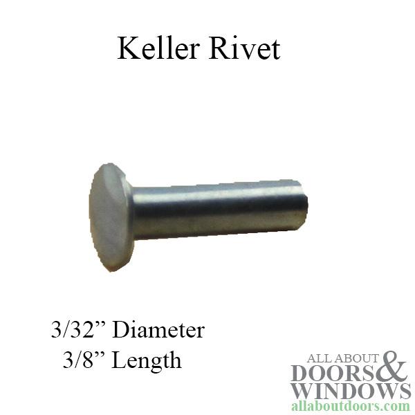 Rivet Keller 3 32 Dia 3 8 Length