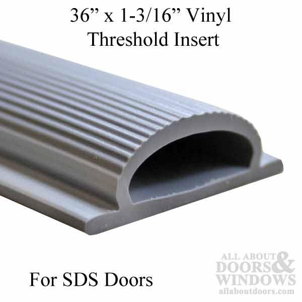 36 Inch By 1 1 4 Inch Vinyl Threshold Replacement Insert