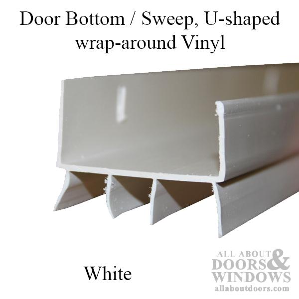U Shaped Door Sweep U Shaped Door Bottom All About Doors