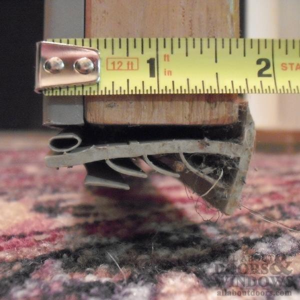 Marvin Door Sweep Bottom Seal Weatherstrip V302 Beige