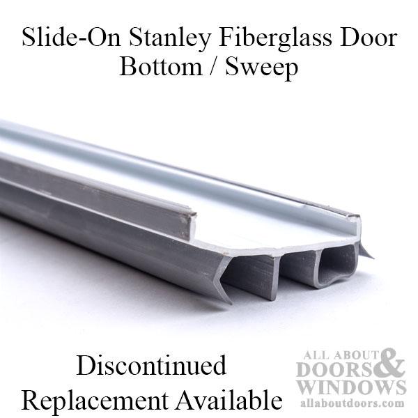 Stanley Fiberglass Door Bottom Sweep Slide On