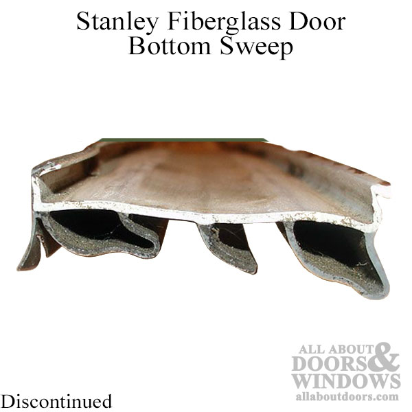 Stanley Fiberglass Door Bottom Sweep Slide On