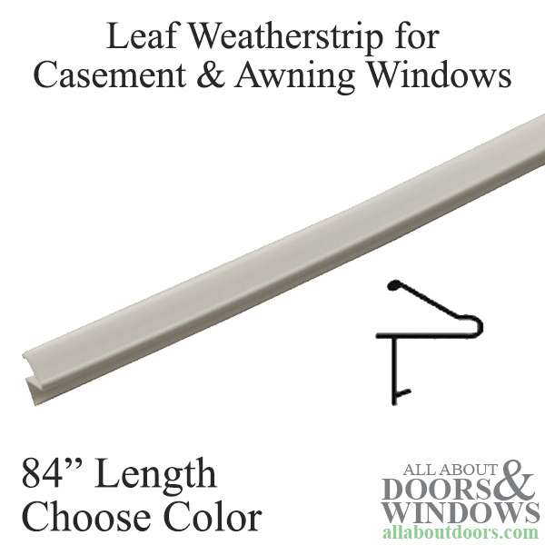 7 Foot Weather Seal For Casement And Awning Windows White