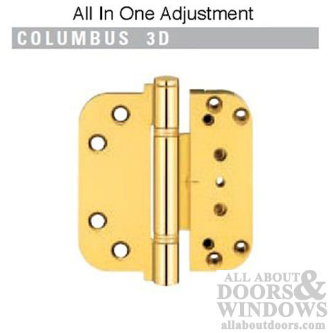 Hinge All In One V H Inswing Door Hinge Brass Sold Out