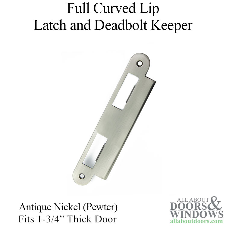 Latch Amp Deadbolt Strike Plate 45mm 1 3 4 Quot Door Antique