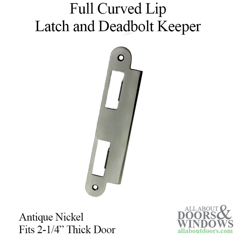 Latch Amp Deadbolt Strike Plate 57mm Extended 2 1 4 Door