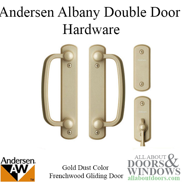 Andersen Frenchwood Gliding Door Trim Hardware Albany 4