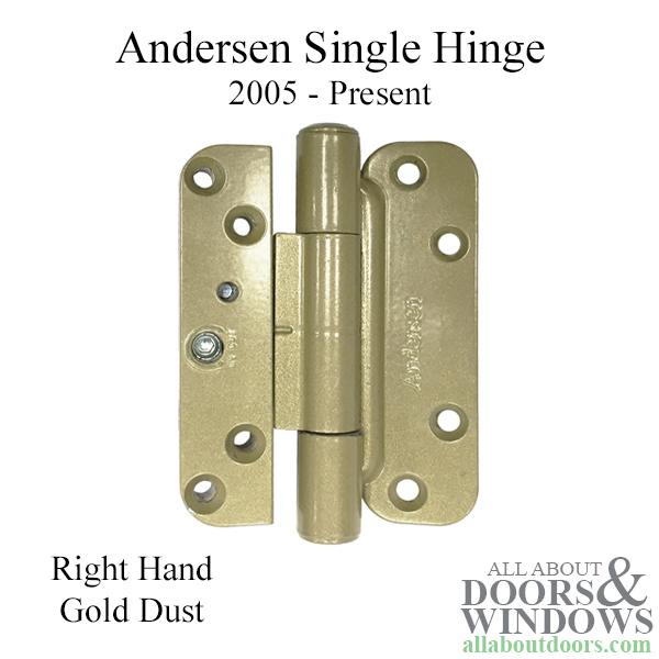 1 Hinge Kit 2005 Present Andersen Fwh Right Hand Door