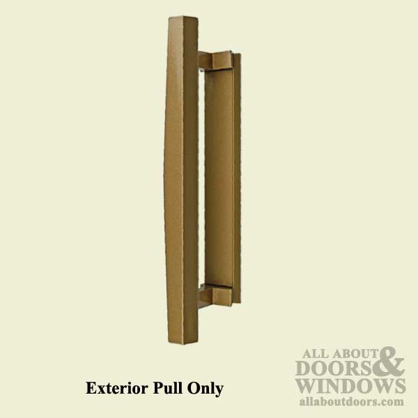 Pella Sliding Door Handle Exterior Pull Roman Bronze