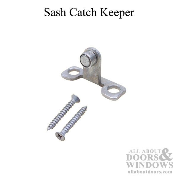 Cc Sash Catch Keeper With Screws