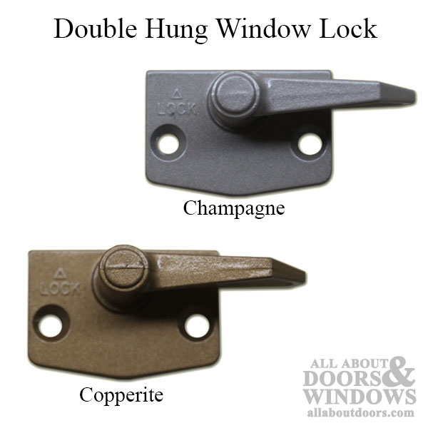 Unavailable Double Hung Window Lock Choose Color