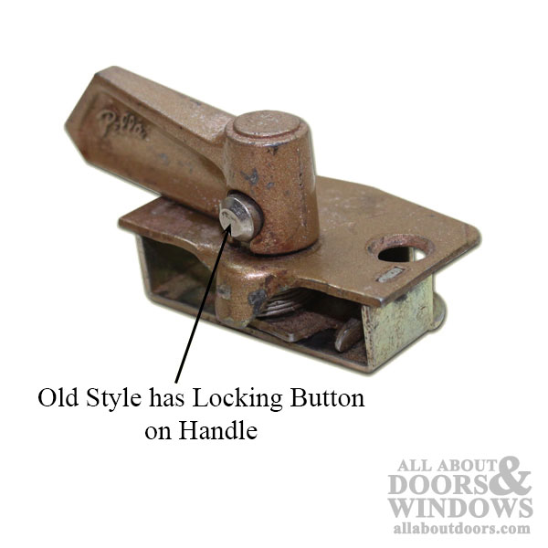 Unavailable Pella Double Hung Window Lock Old Style