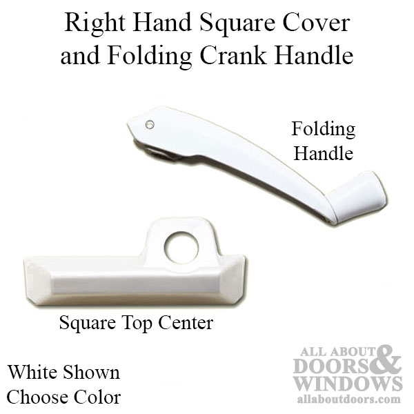 Right Hand Square Cover And Folding Crank Handle Choose