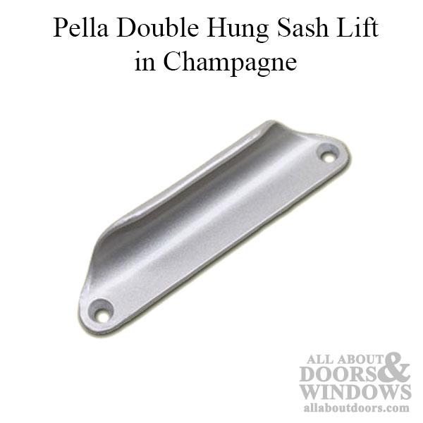 Pella Tilt Double-Hung Sash Lift Window Handle brown NEW