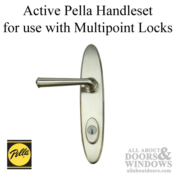 Pella Locus Active Hinged Door Handle Set Trim For