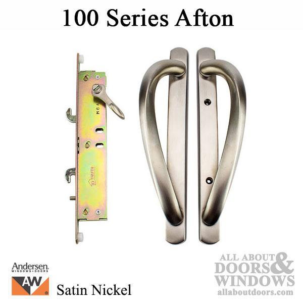 Andersen 100 Series Afton Glass Door Handle Satin Nickel
