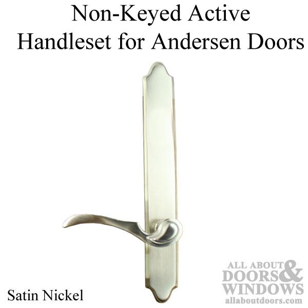 Covington Style Single Active Door Non Keyed Handle Set