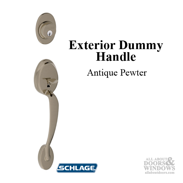 Schlage Plymouth F392 Fa392 Exterior Dummy Handle