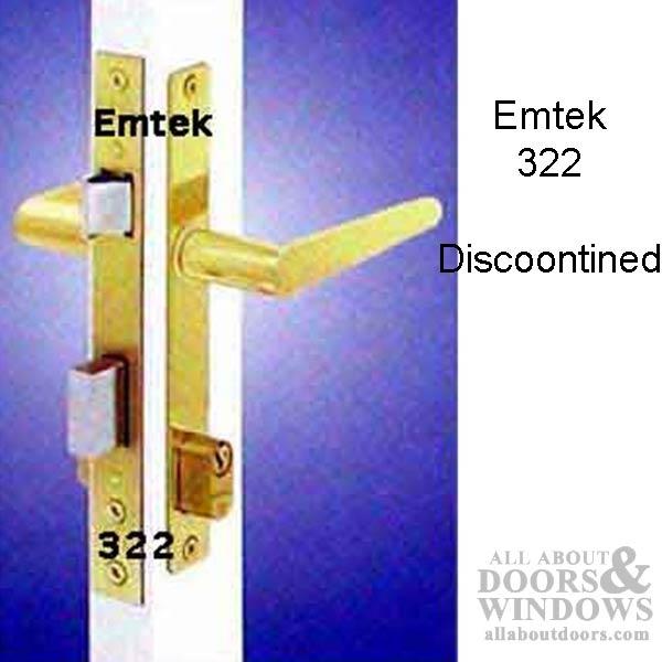 Unavailable Emtek 322 Papaiz Handle Set Mortise