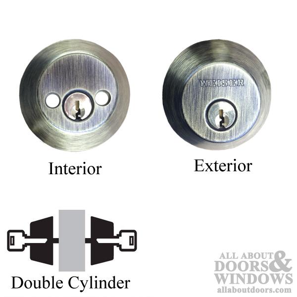Weiser Double Cylinder Deadbolt Nd 9370 X 5 Ka4 Bx