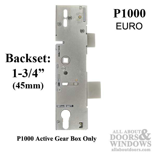 P1000 Active Gearbox 45 92 Mortise Lock Case Body Euro