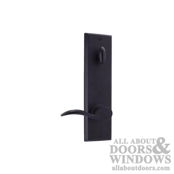 Weslock R7900--H2SL20 Greystone//Rockford Interior Entry Handle Black