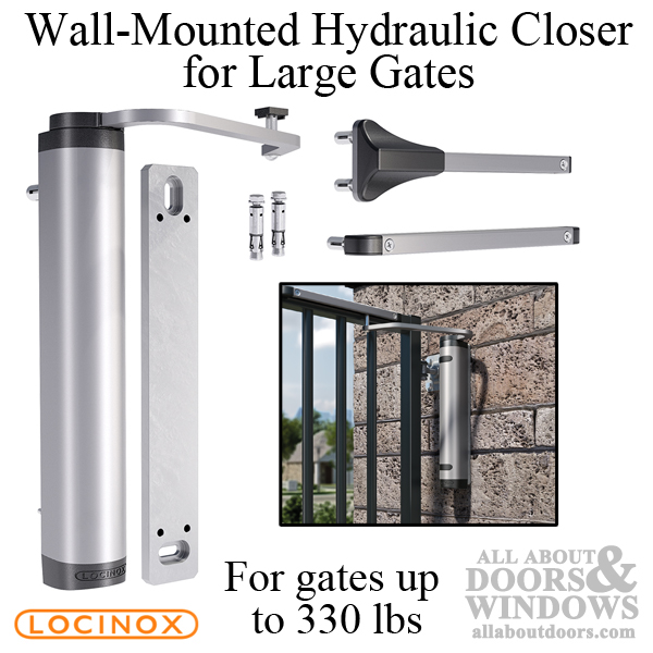 How To Install Verticlose 2 Wall Mounted Hydraulic Gate Closer