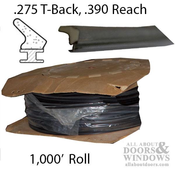 275 T Slot Backing 390 Foam Seal 1 000 Roll